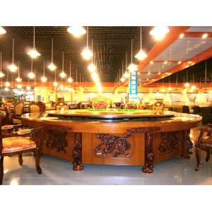 嘉隆酒店供应电动餐桌