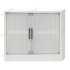一层板卷门柜