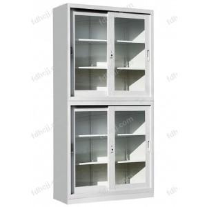 上下玻璃移门柜