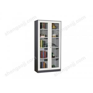文件柜铁皮柜带锁钢制凭证柜资料柜套色柜 北京办公家具
