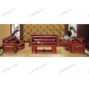 H3G01124 皮艺沙发 贵宾沙发