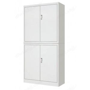 双节文件柜 铁皮柜 办公资料柜