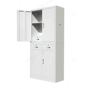 中二屉双节柜 文件柜 铁皮柜 资料柜