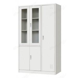玻门平开带书柜 多用柜 文件柜