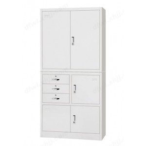 中三屉开门柜 文件柜 储物柜