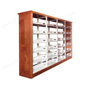 书架 转印木护板书架 档案密集架