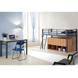 公寓床 双层铁床 铁架床铺