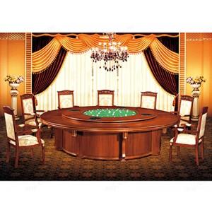 餐桌 酒店餐桌 酒店大圆桌 实木餐桌