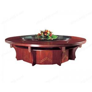 餐桌 实木圆桌 餐桌椅 酒店桌