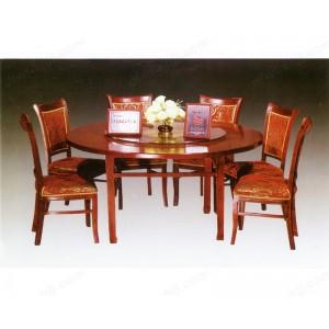 餐桌 实木餐桌 圆桌 酒店桌