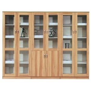木制书柜 木制文件柜 资料玻璃书柜