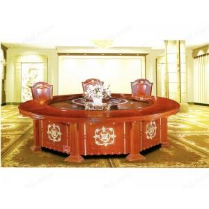 餐桌 豪华酒店桌 实木圆桌 餐台