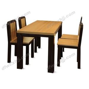 餐桌椅 简约现代餐桌椅 校用餐台椅