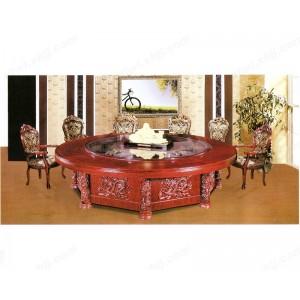 餐桌 豪华大圆桌 酒店餐台
