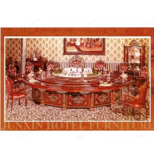 餐桌 豪华电动桌 实木宴会桌