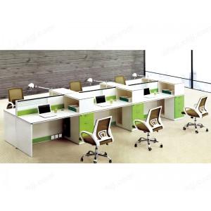 屏风 职员桌 电脑桌 现代6人位