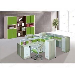 屏风 办公家具 现代职员钢架办公桌