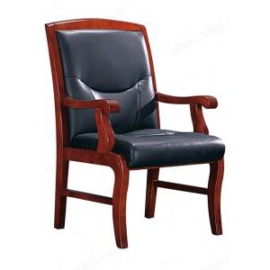 办公椅 实木橡木会议椅 电脑椅