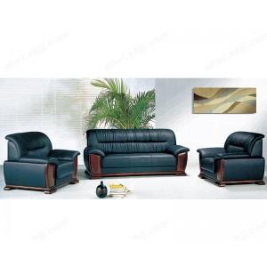 办公沙发 三人位真皮耐磨办公室沙发