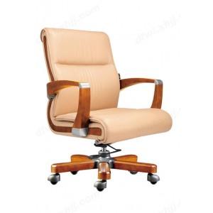 老板椅 真皮可躺按摩大班椅 实木转椅