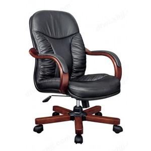 老板椅 真皮大班椅 四脚牛皮可躺椅