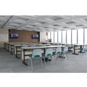阅览桌 防火面板 阅览桌钢架会议桌