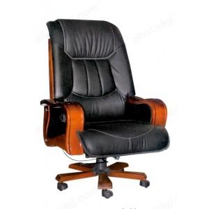 办公椅 升降电脑椅 真皮旋转大班椅