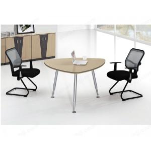 会议桌 圆形简约餐桌 休闲洽谈桌椅