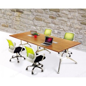会议桌 实木会议桌 油漆长条桌