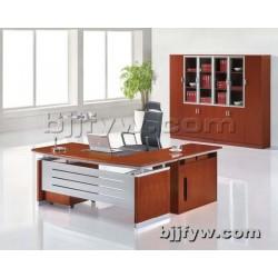 时尚老板桌 板式班台 单人办公桌