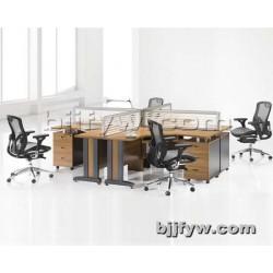 北京现代屏风办公桌 员工组合桌