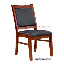 北京真皮会议椅 实木座椅