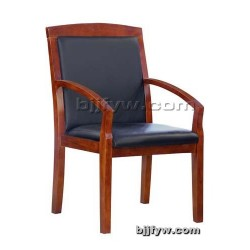实木开会椅 会议室办公椅