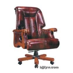 现代真皮班椅 高档老板办公椅