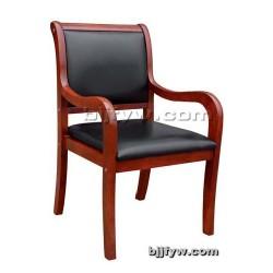 实木会议椅 带扶手会客椅