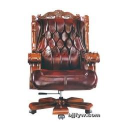 北京现代老板椅 实木办公椅
