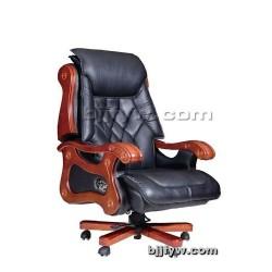 北京实木转椅 真皮老板椅