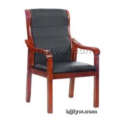 实木会议椅 皮艺办公椅