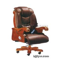 北京真皮老板椅 实木座椅