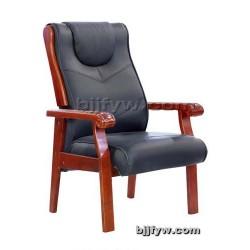 北京现代会议会客椅 实木椅