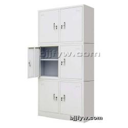 三节财务柜 带锁文件柜 储物柜