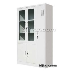 平开书柜挂衣柜 玻门柜 带更衣柜