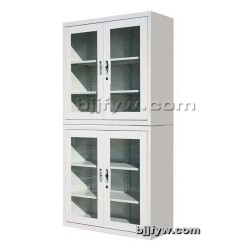 分体玻璃平开书柜 玻门柜 展示柜 资料柜