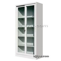 北京文件柜 通体玻璃移门柜 展示柜