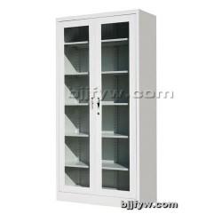 北京通体玻璃平开柜 全玻璃门文件柜 展示柜