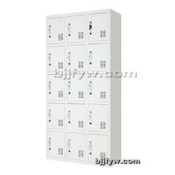 十五门更衣柜 铁皮柜 置物柜
