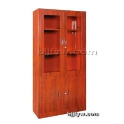 北京文件柜 平开门书柜(转印) 木纹转印柜