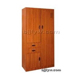 偏二屉多用柜(转印) 仿木纹文件柜