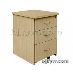 木制活动柜 文件柜 移动矮柜