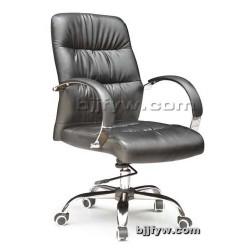北京君发永旺 电脑椅 人体工学椅 可躺老板椅皮艺升降椅